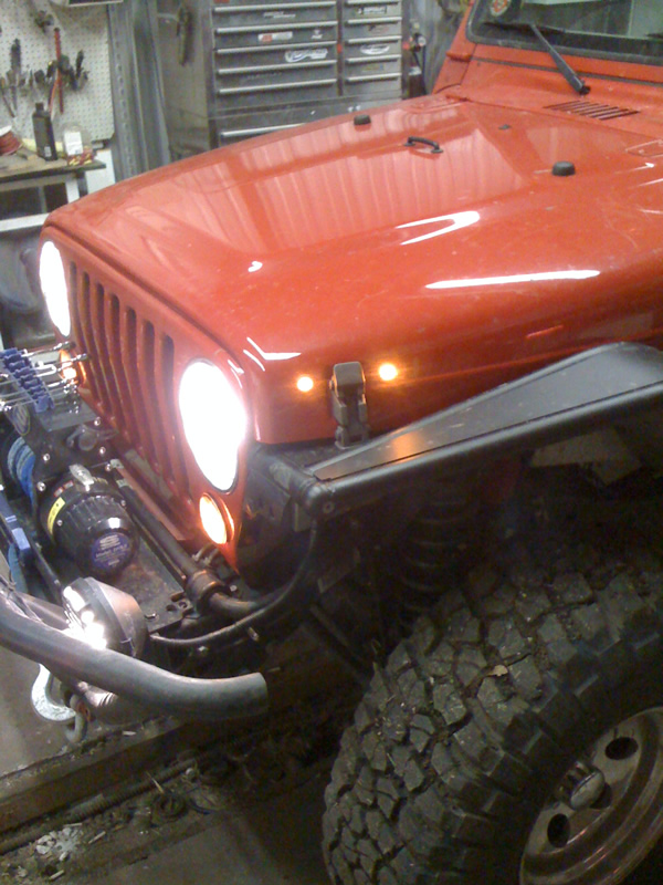 The Whole Story About Installing LEDs as Side Marker Lights Jeep – Jeep Jk Parking Light Wiring